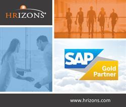 HRIZONS SAP Gold Partner Infographic