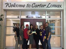 PinnacleART team members and Carter Lomax Middle School educators