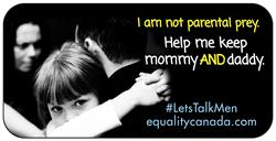 CAFE Parental Alienation and Fatherlessness billboard ads