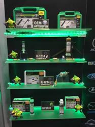 Assortment of Tracerline products exhibited at AAPEX 2015