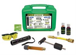 TP-8617 EZ-Ject A/C and Fluid Leak Detection Kit with components