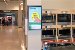 LG Touchscreen Displays in Nebraska Furniture Mart