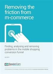 Removing the friction from m-commerce