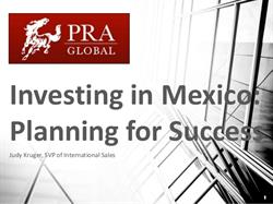 Investing in Mexico:  Planning for Success