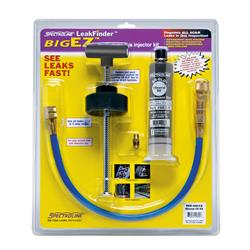BEZ-400CS kit with components including one dye cartridge for mineral oil lubricant systems