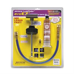 BEZ-400ECS kit with components including one universal/POE dye cartridge for all AC&R systems