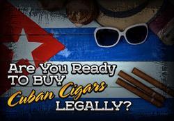 Ready to buy Cubans Legally