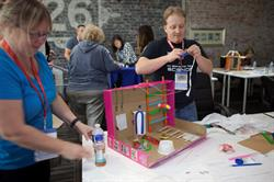 Educators from Computer Using Educators of BC (CUEBC) participate in Maker Day event