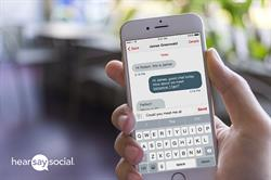 Hearsay Messages text messaging solution