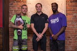Shogun Fights Micah Terrill, First Down Funding - Paul Pitcher and Baltimore Raven's C.J. Mosley