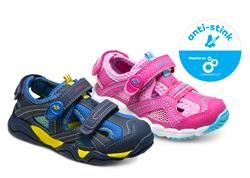 """A new line of Celessence fresh-scent infused Stride Rite children's footwear will be presented as """"anti-stink"""" technology and will debut as part of the company's spring 2016 Made 2 Play sandal collection, available in retail and specialty stores nationwide."""