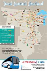 Jefferson Lines Full Route Map