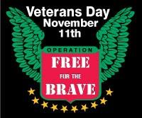 ScrubaDub Operation Free For The Brave On Veterans Day.