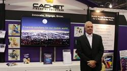 Jeffrey Mack, President and CEO of Cachet at Booth at Money 20/20
