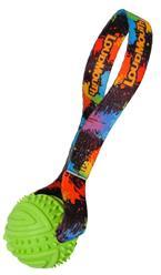 paint balls rubber toss toy