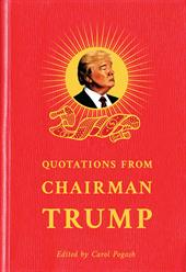 Quotations of Chairman Trump cover