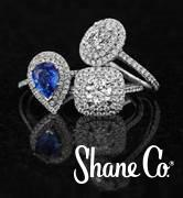 Sapphire Engagement Ring at Shane Co.