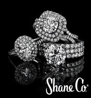 Shane Co. 1.50-carat double halo engagement ring