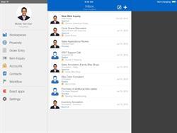 Exact Macola 10 iPad Workflow