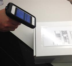 abas ERP mobile developers have found a way to bridge the gap between software and barcode scanners