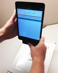 Barcode scanners can be attached to your mobile device such as an iPad or an iPhone, then easily int