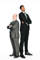 H&R Block's Richard Gartland and NBA All-Star Anthony Davis