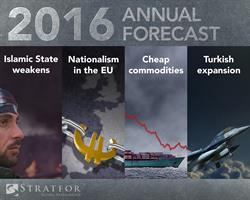 Stratfor 2016 Annual Forecast Graphic