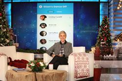 "Ellen DeGeneres introduces ""Ellen's Dance Off"", a new game for iOS and Android."
