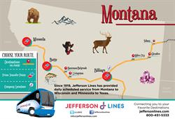 Jefferson Bus Station Grand Opening, Billings, MT