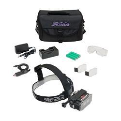EK-365 EagleEye UV-White Light Leak Detection Kit with components