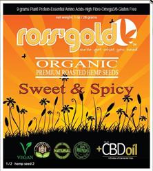 Ross' Gold Hemp Seeds with CBD