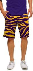 LSU Tiger Stripes Men's Shorts