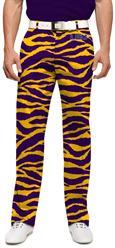 LSU Tiger Stripes Men's Pants