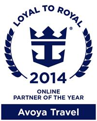 Royal Caribbean Honors Avoya Travel as Online Partner of the Year