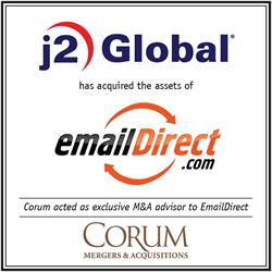 j2 Global has acquired the assets of EmailDirect