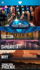 Desert Diamond Casino's MY DDC App
