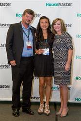 Franchise Owner John MacVean Receiving HouseMaster Man Award