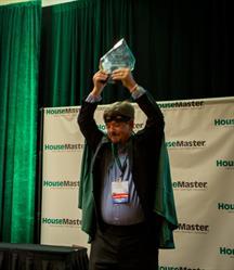 Franchise Owner John MacVean dressed as The HouseMaster Man
