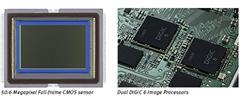 Canon EOS 5DS  50.6 Megapixel Full-frame CMOS sensor