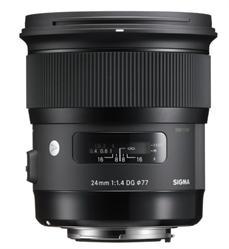 Sigma 24mm f/1.4 DG HSM Art Lens for Sigma SA