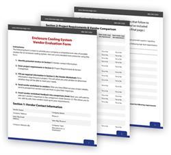 enclosure-cooling-vendor-evaluation-sheet