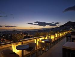 Galaxy Bar - Hilton Athens Hotel Athens, Greece