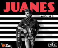 Juanes Live At the OC Fair August 5