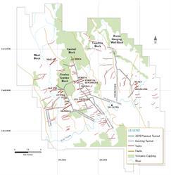 Figure 1:  San Dimas Plan View Map