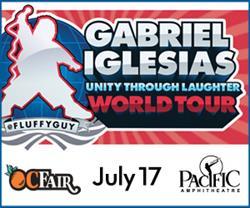 Gabriel Iglesias Live at the Pacific Amphitheatre at the 2015 OC Fair