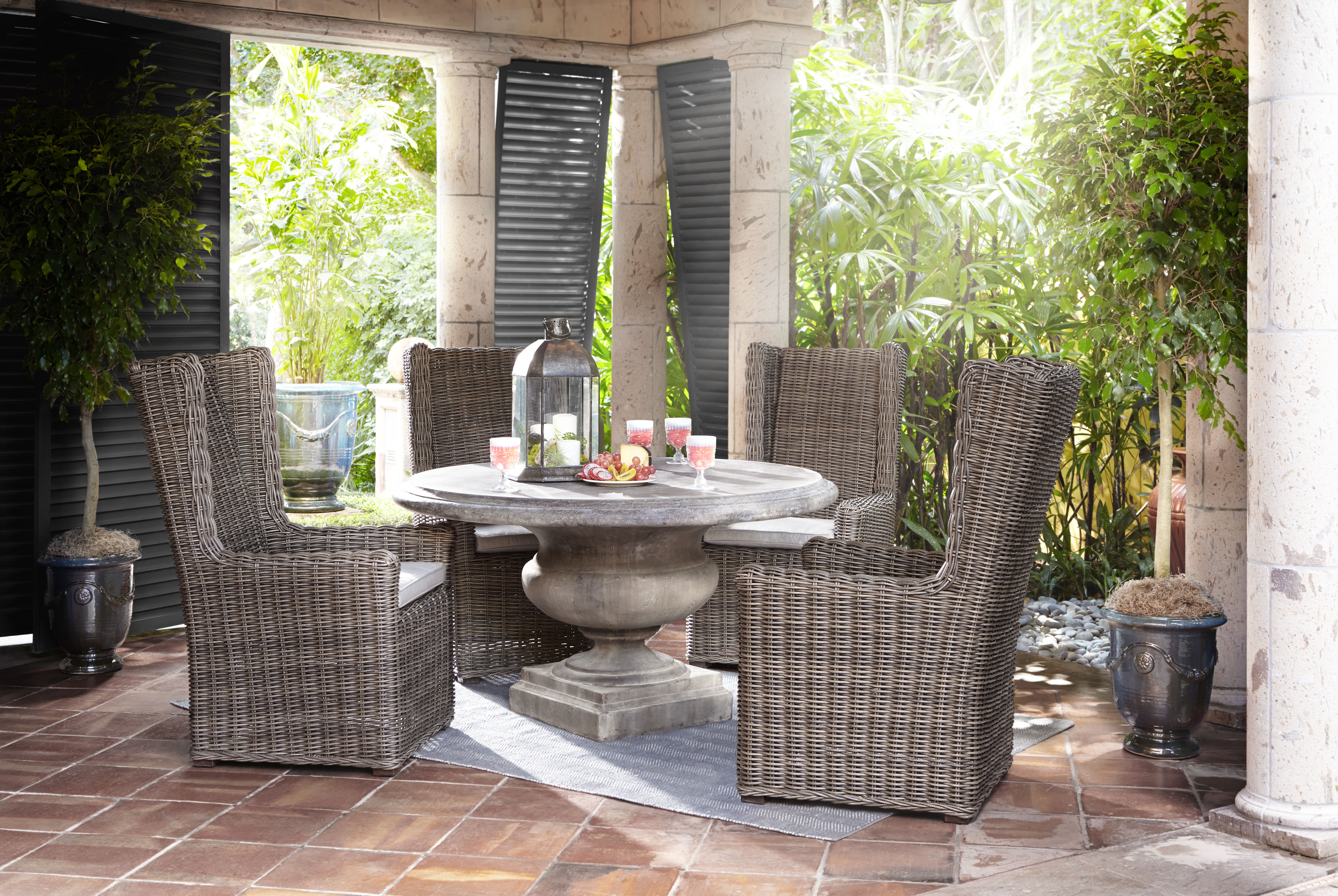 Arhaus Expands on Outdoor Furniture Offering With 150 All  : Treviso55inchRDDiningTable1A141013 v3 1244748649993 from markets.financialcontent.com size 8942 x 5990 jpeg 6358kB
