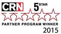 CRN 5-Star Partner Program Winner 2015