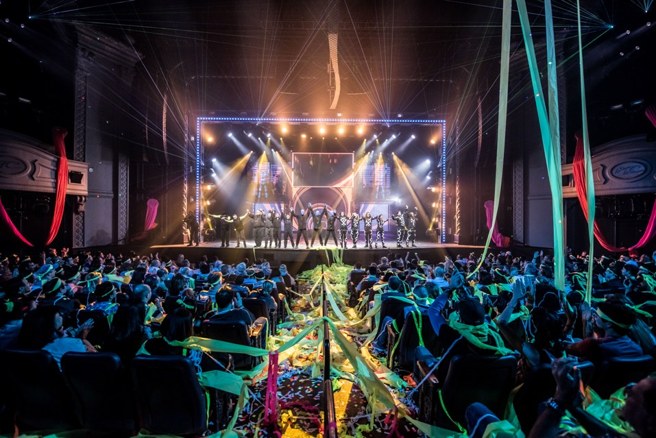Blue Man Group Debuts Latest Evolution of Las Vegas Production at ...