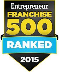 Entrepreneur Magazine Franchise 500 - 2015