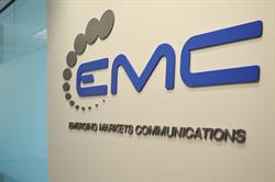 EMC logo Houston office